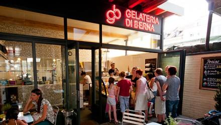 Gelati der Gelateria di Berna AG, Bern